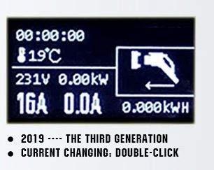 Tragbare Mobile Wallbox EVSE Ladegreät Ladestation   11KW   16A   3 Phasig   CEE 5 Pin zu Typ 2  7 Meter + Tragetasche - 2