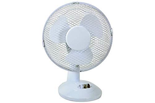 Krachtige en stille ventilator met 2 snelheidsinstellingen, 22 W.
