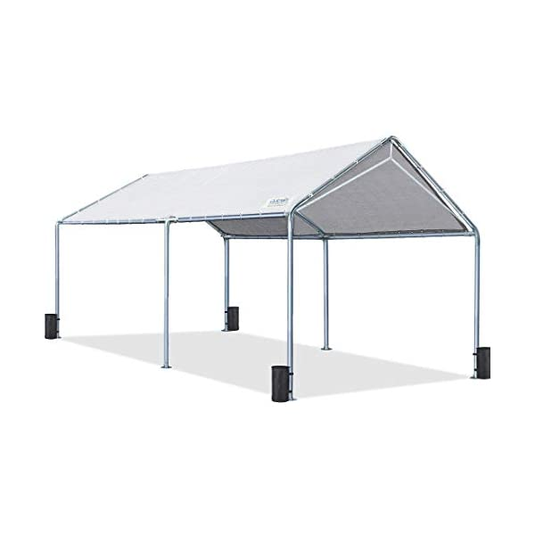 Quictent 10'X20′ Upgraded Heavy Duty Carport Car Canopy Party Tent (10'x20′...