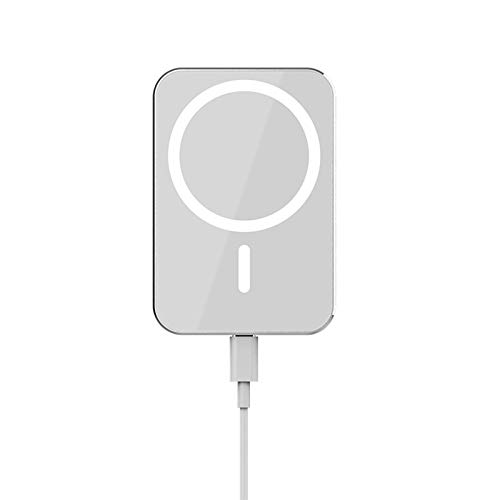 Adecuado para iPhone 12 12Pro Max HaloLock Magsafe cargador inalámbrico rápido orificio de carga de escape de automóvil con soporte adaptador de teléfono magnético, base fija rotación de 360 °