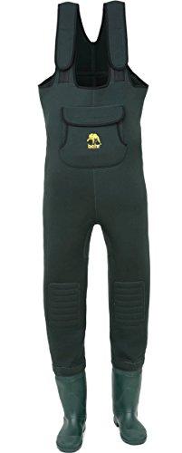 Behr Neopren High Back Wathose inkl. Socken mit Tasche alle Größen (46 / 47)