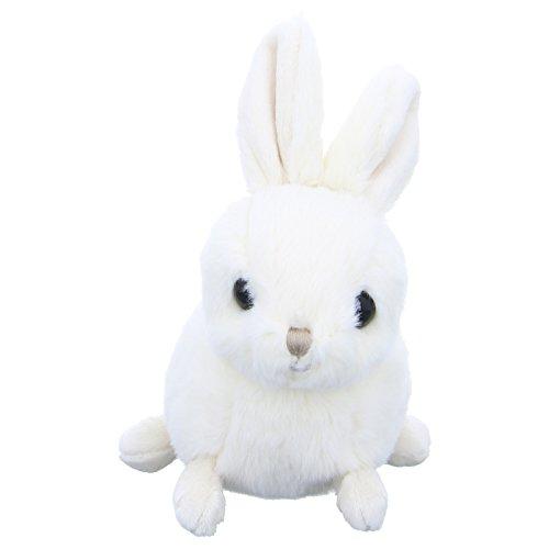 Bukowski Kuscheltier Zeus Plüschtier Hase Weiß, Größe Einheitsgröße