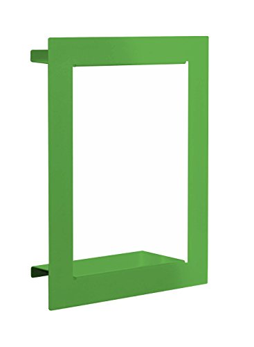 Element System 11338-00011 Wandregal Frame/Regalwürfel/Wandwürfel/grün / 370 x 290 x 90 mm / 3 Größen / 3 Farben