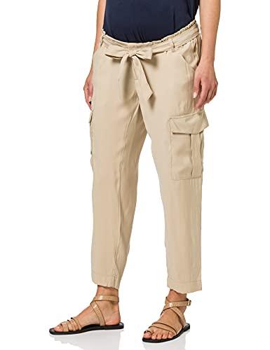 Mamalicious MLBENITA 7/8 Woven Cargo Pants Pantaloni, Nomad, M Donna