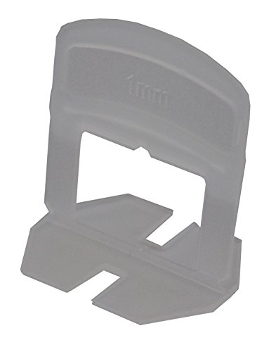 Tile Rite lss853Nivellierung Fliesen Abstandhalter für Fliesen bis zu 12mm dick, weiß, 1mm, Set 100Stück