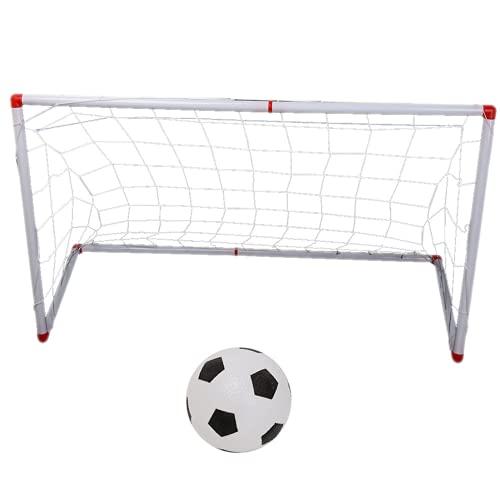 bizofft Red para Postes De Portería para Niños, Red Portátil para Postes De Fútbol para Acampar para Niños(106cm)