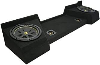 Compatible with Chevy Silverado 07-12 Extended Cab Truck Dual 12