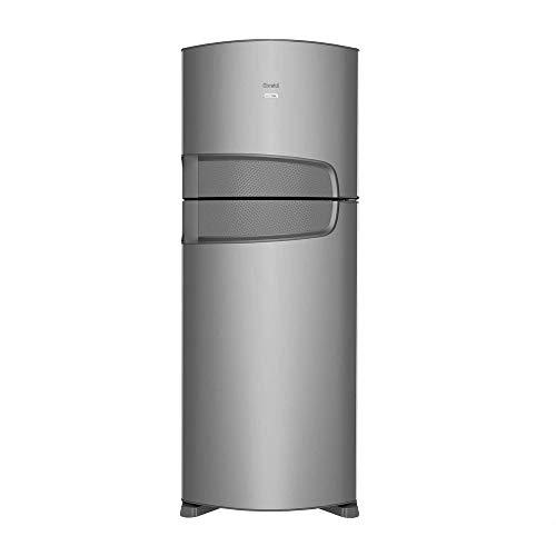 Geladeira Consul Frost Free Duplex 441 litros Inox com Filtro Bem Estar - 110V