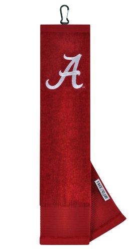 Alabama Crimson Tide Face / Club Besticktes Handtuch