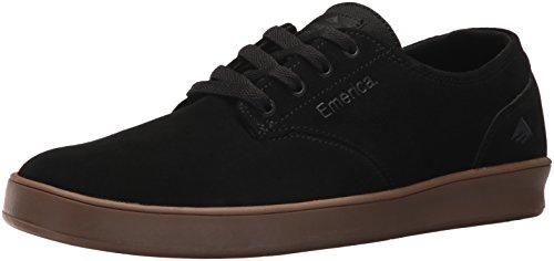 Emerica Romero Skate Schoen met veters, zwart/houtskool/kauwgom, 7.5 UK