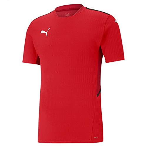 PUMA Teamcup Jersey Camiseta, Hombre, Red, M