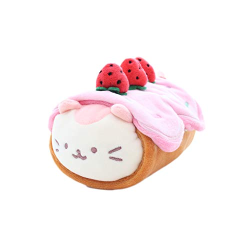 "Anirollz Kittiroll 6"" Small Soft & Squishy Plush Blanket Toy"