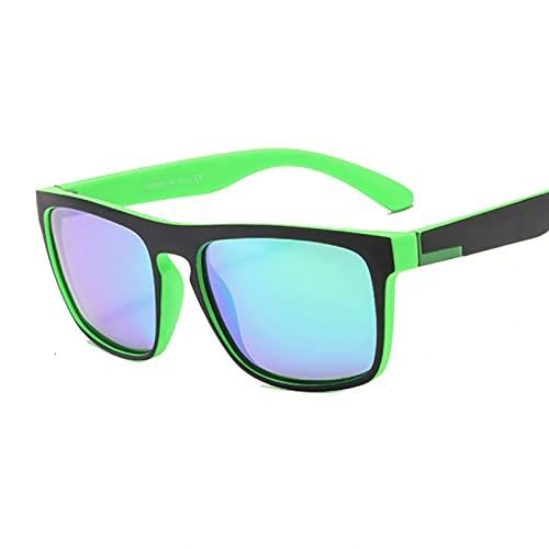 DAIDAICDK Gafas de Sol cuadradas polarizadas para Hombres y Mujeres Gafas de Sol para Mujer UV400 conducción Viajes Gafas al Aire Libre