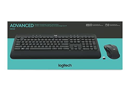 Logitech MK545 Advanced Wireless Keyboard and Mouse Combo Product Image