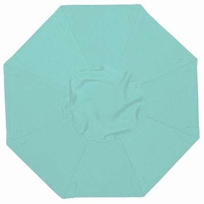 Buy Discount MJJ Sales, 9' Patio Umbrella Replacement Canvas Suncrylic 36 Aqua Blue