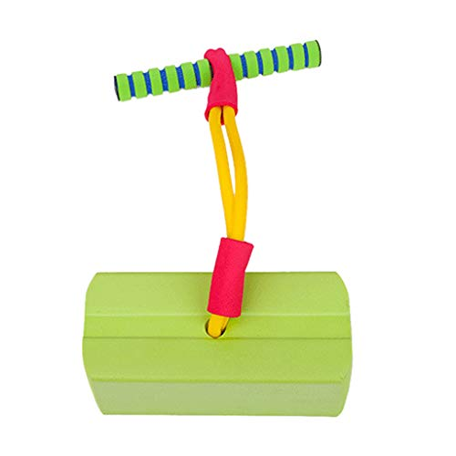 RK-HYTQWR Kids Toddlers Fun Foam Hopper Bounce Rubber Stick Jumper Juguete Hinchable Niños Chirridos Regalos para niñas Niños, Almohadilla de Espuma, Goma