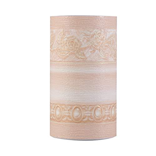 Amosfun 1 rollo de vinilo adhesivo en relieve 3D con cintura, para salón, dormitorio, oficina, YA102103, decoración de fiesta