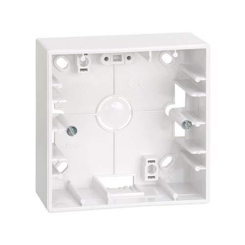 Caja de superficie para 1 elemento Simon 27 Blanco