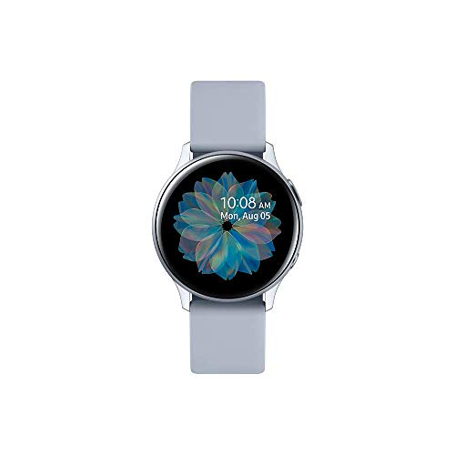 Samsung - Montre Galaxy Watch Active 2 Bluetooth - Aluminium 40 mm - Bleu gris - Version Française