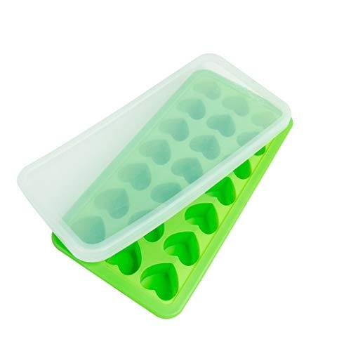 IJsblokjesvorm voor ijsblokjes, ijsblokjesvorm, koelbox, vrieskist, snel, wijn, aanvulling, koelkast, met deksel