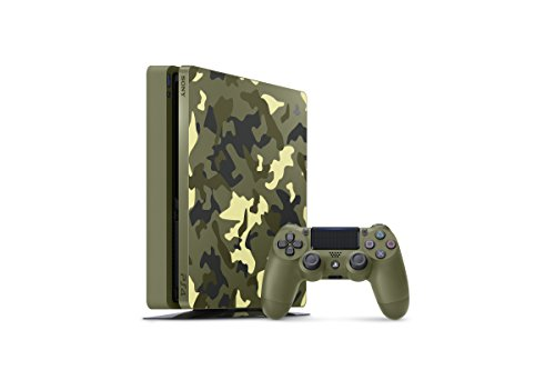 PlayStation 4 Slim 1TB Limited Edition Console - Call of Duty WWII Bundle [Discontinued]