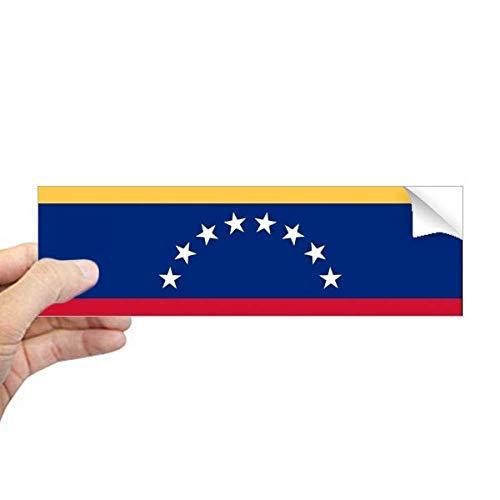 DIYthinker Venezuela Nationale Vlag Zuid-Amerika Land Rechthoek Bumper Sticker Notebook Window Decal