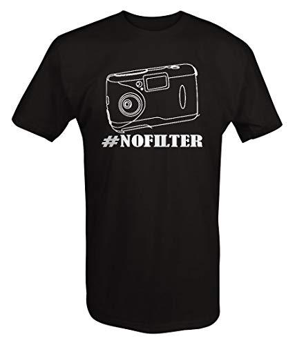 ouy Tshirt -Geen Filter Camera Selfie Twitter Hashtag #Geen Filter