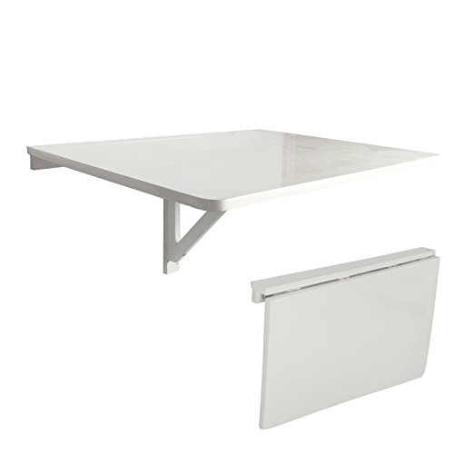 LiRen-Shop JinQi - Mesa de pared plegable simple y plegable, 75 x 60 cm,...