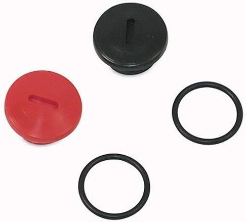 Motor Verschluss-Schrauben Set für Getriebedeckel bei Simson S51 KR51/2 Schwalbe