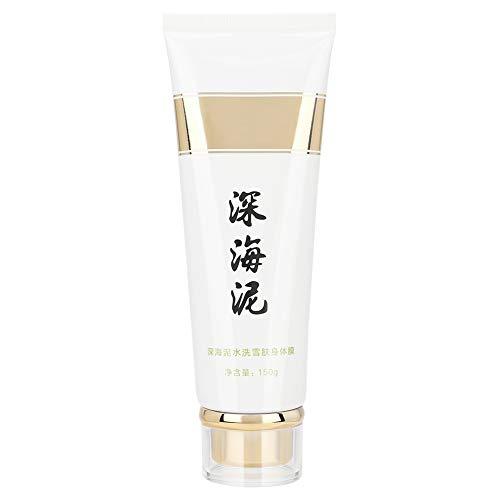 Body Deep Sea Mud, Light Natural Deep Dead Sea Mud Making Body Skin Bright Luster Cleasning Cream Nourrit Hydrate 150g