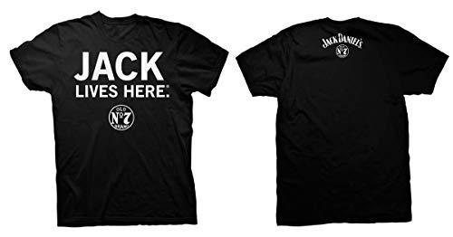 T-shirt JACK DANIELS Whiskey Lives Here