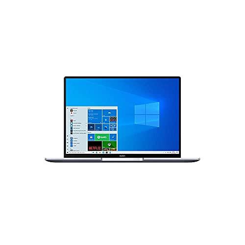 HUAWEI MateBook 14 Laptop, Ultrabook DisplayFullView 2K, Intel i5-10210U, 8GB RAM, SSD da 512GB, lettore impronte digitali, Huawei Share, Windows 10 Home, Space Gray, Layout Italiano