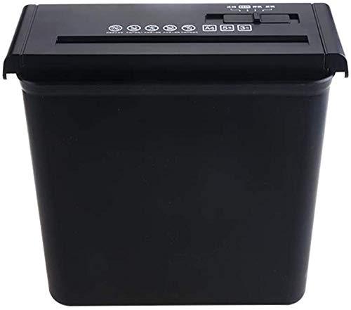Shredder Shredder Oil/Shredders Cross Cut Home / a4-papier / 7 mm/Electric Micro Cut / 10 liter opvangbak/thermische overbelastingsbeveiliging/creditcardvernietiger/stille werking papie