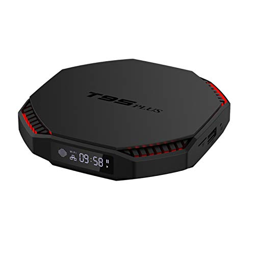 Android 11.0 TV Box Sistema Actualizable Set Top Box RK3566 Quad Core 8GB RAM 64GB ROM Reproductores Multimedia De Transmisión con 2.4G / 5.8GHZ WiFi con AC & BT 4.0 8K Smart TV Box