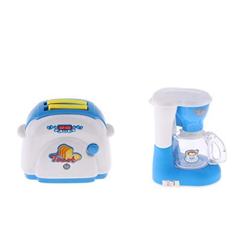B Blesiya Mini-huishoudelijke apparaten, fabrikant van brood- en koffiezetapparaat voor kinderen, rollenspel