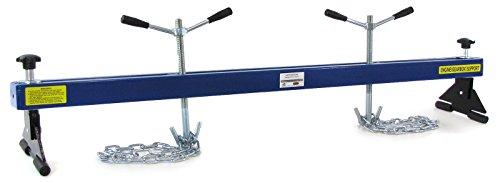 Carparts-Online 27908 Profi Motorbrücke Kotflügeltraverse Motorheber bis 500kg blau