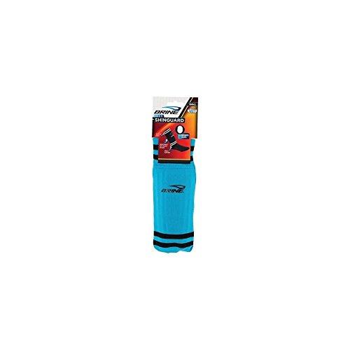 Franklin Sports Brine ACD-2 Sock'r Shin Guard Medium Blue 025725431151