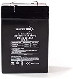 Bright El Paso Mall Way Replacement Battery for 6V 5 popular Sure-Lites 26117 4.5Ah Sea