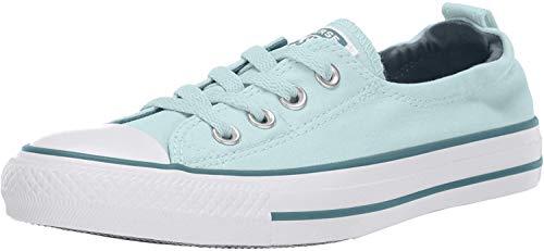 Converse - Sneakers Converse Chuck Taylor All Star Shoreline da donna, in lino, senza lacci Donna , blu (Teal Tint/Celestial Teal/White), 35.5 EU
