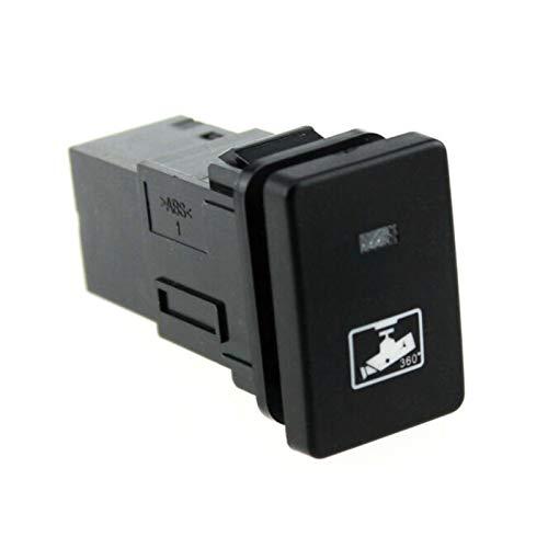 DIBAO Interruptores y relés de automóviles. Auto LED Cámara Corto Push On Off Switch Botón Accesorio Compatible Toyota Camry Prius Cleat Suplemento