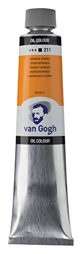 Royal Talens : Van Gogh Oil Paint : 200ml : Cadmium Orange S2