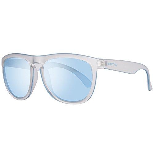 United Colors of Benetton Herren BE993S03 Sonnenbrille, Transparent (Crystl), 55