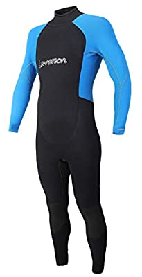 Lemorecn Kids Wetsuits Youth 3 mm Full Diving Suit (4033lightblue10)