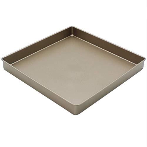 Golden Square zonder taart bakplaat Cookie bakvorm Goud