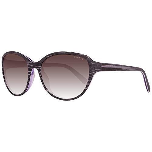 ESPRIT ET17879 55577 Sonnenbrille ET17879 577 55 Schmetterling Sonnenbrille 53, Grau