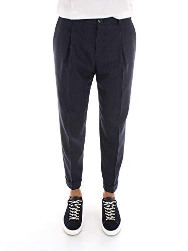 Calvin Klein K10K104258 Pantalon Chino Homme Bleu 48