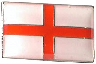 Inglaterra, bandera inglesa de San Jorge Insignia de pin de solapa de metal con esmalte