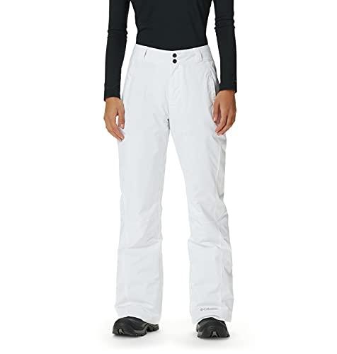 Columbia Pantalones De Esquí Térmicas Modern Mountain 2. 0, para Mujer, Blanco, L/R