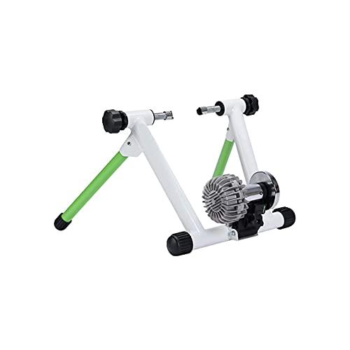 WGLL Entrenador de Bicicletas Soporte de Acero Bicicleta Ejercicio Soporte magnético con Rueda de reducción de Ruido for Bicicleta de Carretera