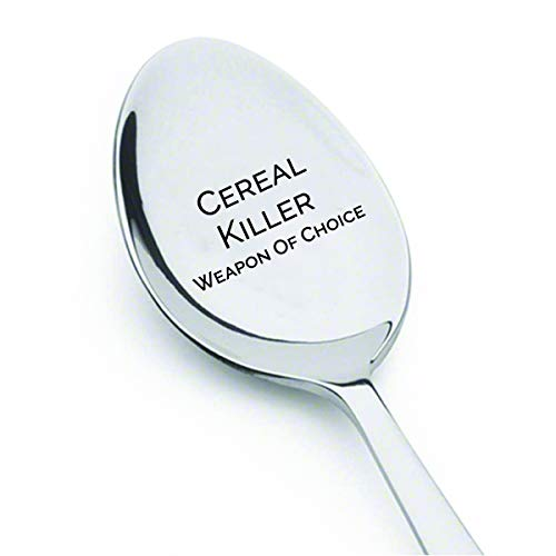 Cereal Killer Weapon of Choice Spoon Gift # A11